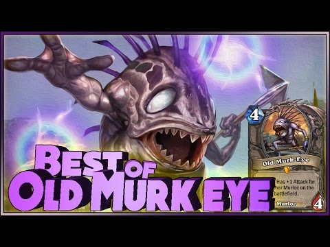 Hearthstone Best of Old Murk-Eye - Funny and lucky Rng Moments