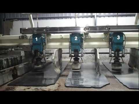 Auto Matic Granite Polishing Machine