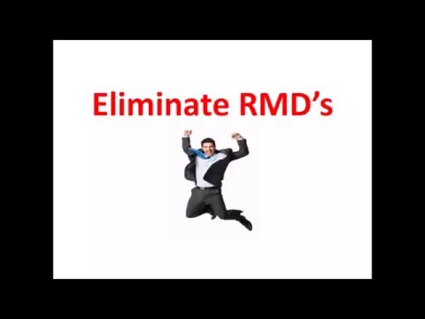IRS RMD's - IRA Rules for 5 different RMD Options