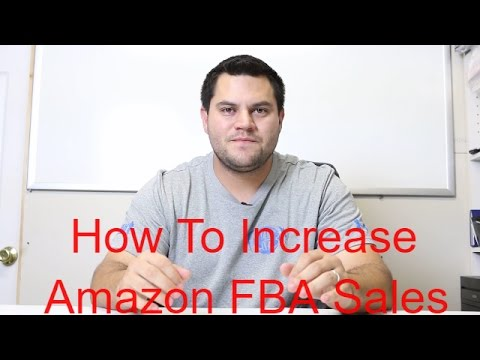How To Increase Amazon FBA Sales - Make These Small Tweaks To Increase Profitabily