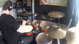 Linear Stack Groove (drum Lesson)