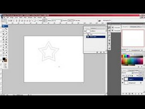 Photoshop Tutorials : How to Draw a Star in Photoshop