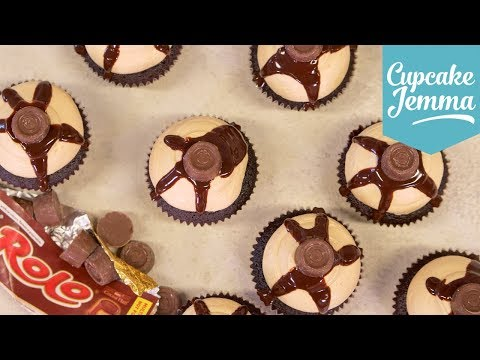 How to Make Tasty Rolo Cupcakes | Cupcake Jemma