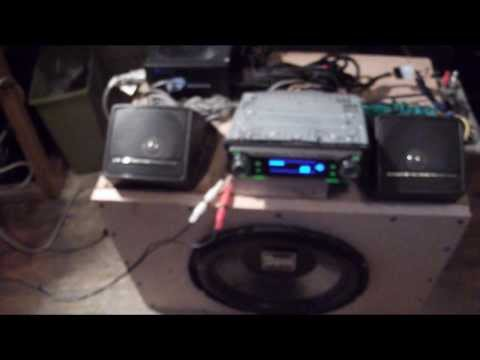 Running a car stereo on computer power supply
