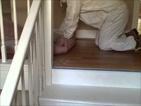 Lead Paint Staircase Restoration Seattle Madrona Healthy Painting