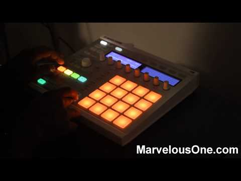 Marvelous One x 4 Letter Word Collab on Maschine MKII