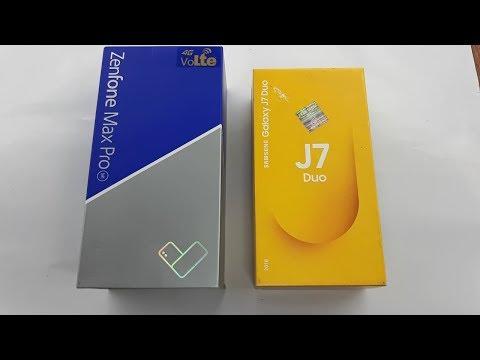 Asus Zenfone Max Pro M1 vs J7 Duo Full Comparison