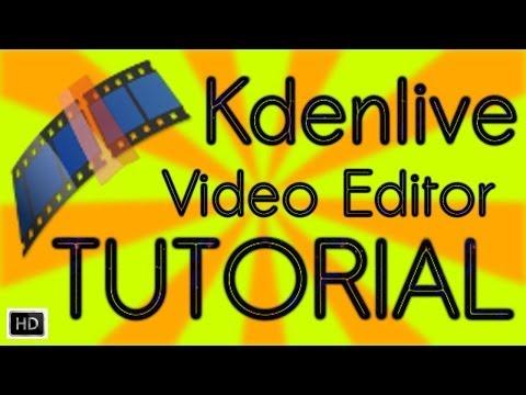 Kdenlive video editor Hands On Tutorial