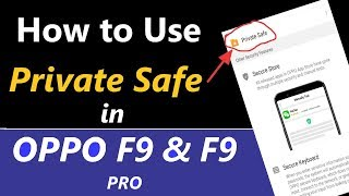 How to Use Private Safe in Oppo A7   Music Jinni