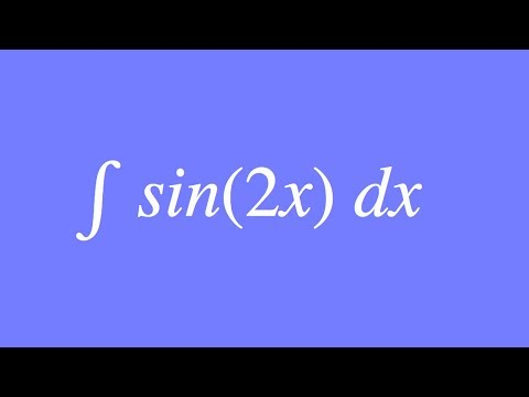How to Integrate sin(2x)