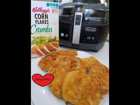 FRIED PORK CHOPS CORN FLAKES CRUMBS REVIEW AIR FRYER