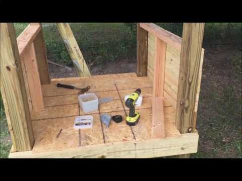 Building a Duck House / Coop