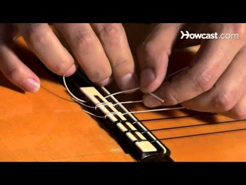 How to Restring a Nylon String Guitar | Guitar Lessons