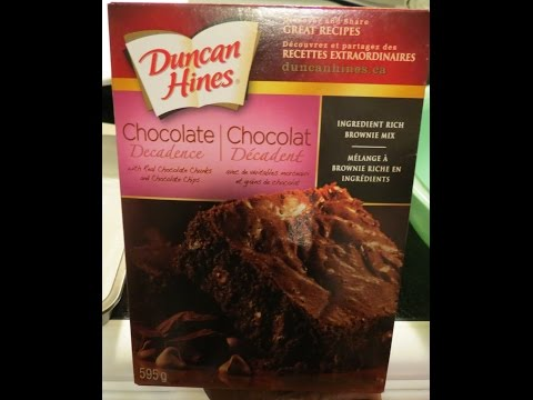 Veganize Duncan Hines Chocolate Decadence Brownie Mix!