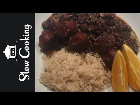 Our Slow Cooker Feijoada, a Portuguese Pork and Beans Stew