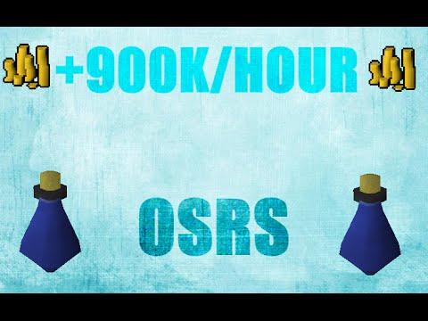 900K/Hour Grand Exchange Money Making Guide #39 Oldschool Runescape 2007 (OSRS)