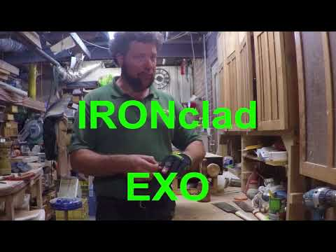 All things Trade- Iron Clad Exo Work site glove review