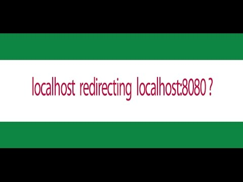 localhost taking localhost:8080 - localhost:8080 redirecting xampp