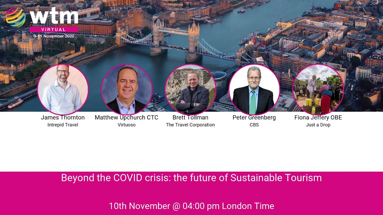 Beyond the COVID crisis: The future of Sustainable Tourism
