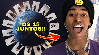 REAGINDO a NOW UNITED - DANA DANA (Official Music Video)