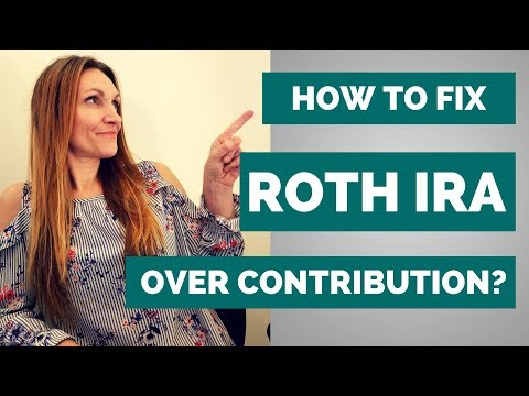 What Happens if you Over-contribute to a ROTH IRA? (Excess Roth Contributions)