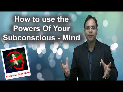 How to use the Powers of your Subconscious mind | VED | [in Hindi]