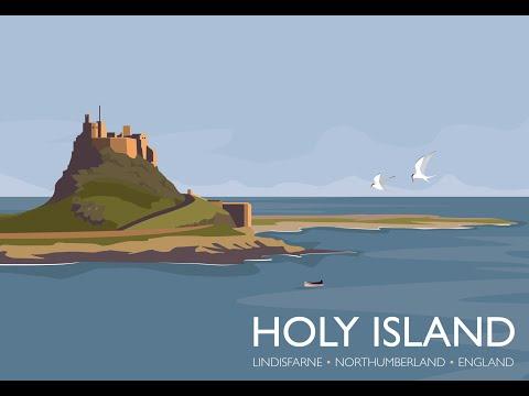 Lindisfarne Holy Island Northumberland