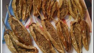 पारंपरिक सांडगी मिरची   Sandgi Mirchi Recipe   Saandgi Mirchi