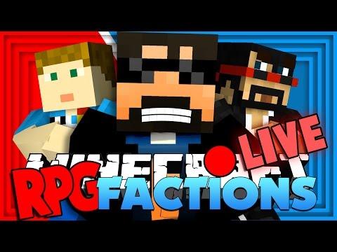 Minecraft RPG Factions   1v1v1 BATTLE CHALLENGE!! [3]