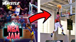 NBA JAM IN REAL LIFE!?
