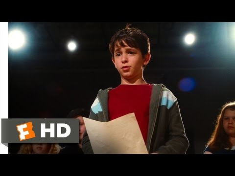 Diary of a Wimpy Kid (2010) - The Wonderful Wizard of Oz Audition Scene (4/5)   Movieclips