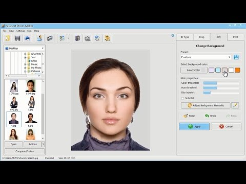 How to Change Background on ID Photos