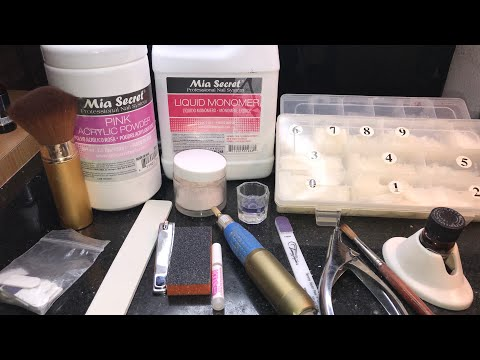 Acrylic Nails For Beginners | Supplies Needed To Do Nails