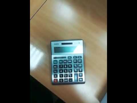 How to calculate percentage on calculator
