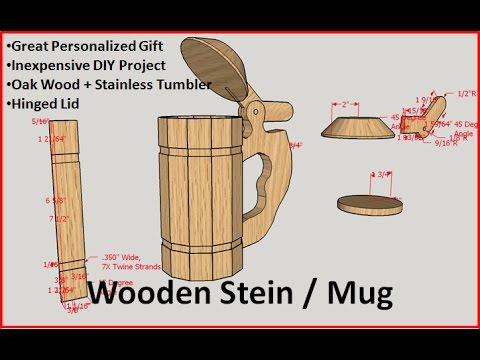 Wooden Stein / Mug