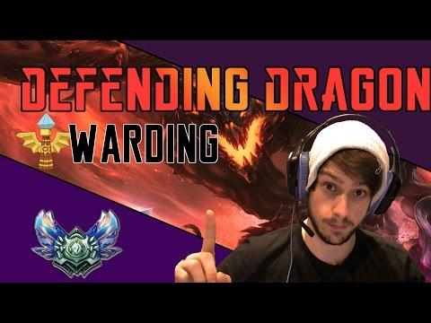 League of Legends - WARDING GUIDE |  DEFENDING DRAGON
