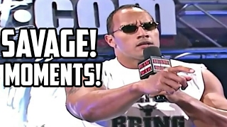 WWE The Rock Most Savage Moments , Funny Moments , Outrageous Moments