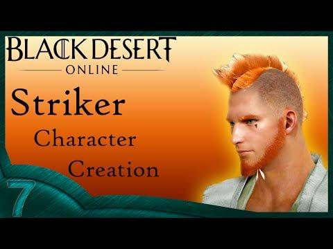 Black Dessert Online - Striker Character Creation