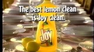 Joy detergent commercial (1991)