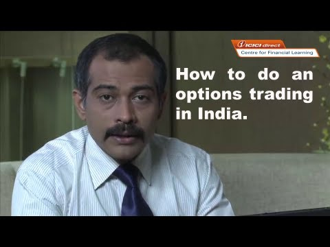How to do an options trading in India.