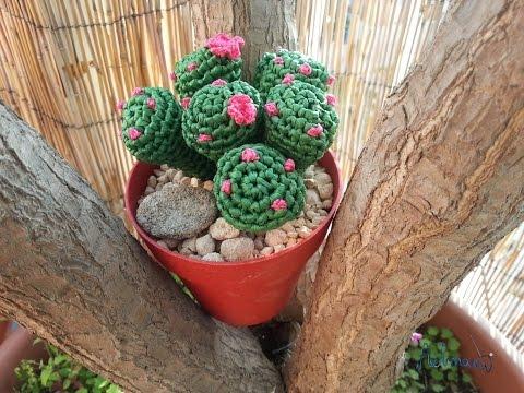 Tutorial crochet/ganchillo cactus dedo parte 1