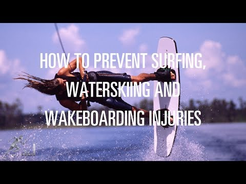 Tips to prevent water sports injuries
