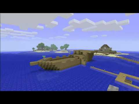 Minecraft Xbox 360 - Timelapse 2 - The Pirate Ship