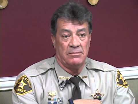 Sheriff Valenza Talked About this Weekends Man Hunt