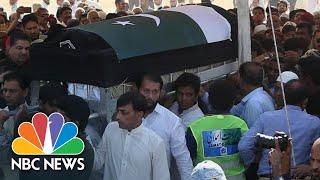 Family Hold Funeral For Pakistani Teen Slain In Santa Fe Shooting | NBC News