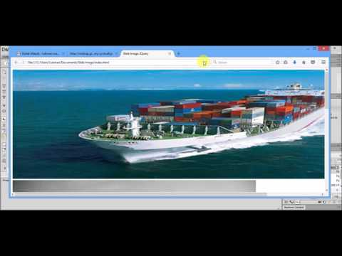 Make Easy Slide Image with Jquery Dreamweaver CS6