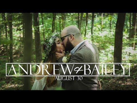 Andrew and Bailey Zidar Wedding Film // August 30th, 2017