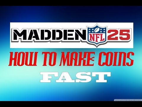 MUT 25 - How To Make Coins Fast -  Madden 25 Ultimate Team