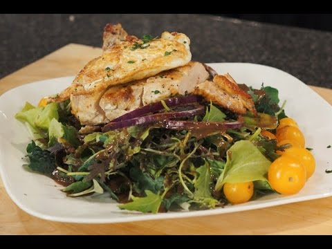 Chicken Salad with Ginger Balsamic Dressing