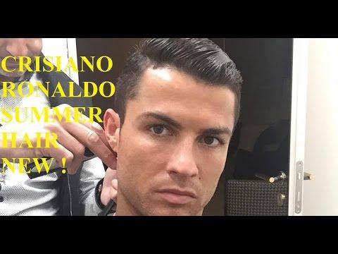 Cristiano Ronaldo Cut His Hair 2017,05 | جديد كريستيانو رونالدو يقص شعره 2017,05 لا يفوتك
